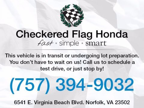 One Owner Vehicles  Checkered Flag Honda