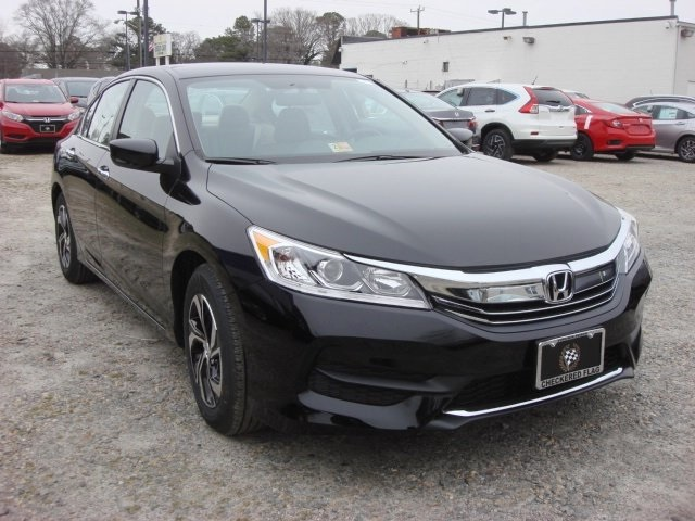 new 2016 honda accord lx 4d sedan in norfolk h24111 checkered flag honda. Black Bedroom Furniture Sets. Home Design Ideas