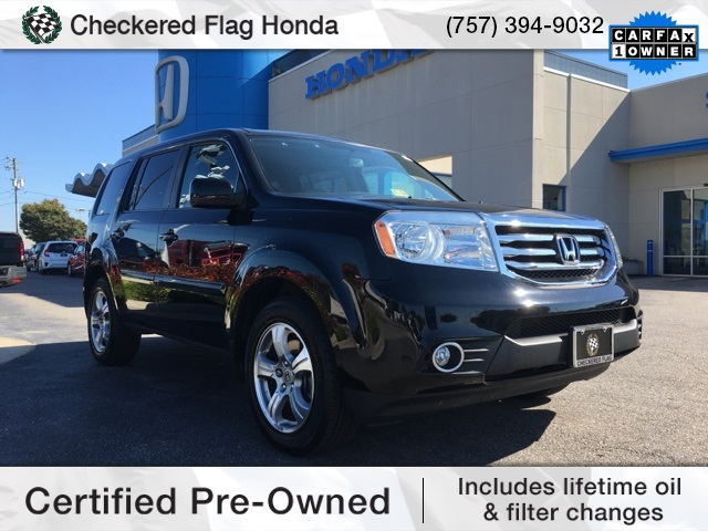 Certified pre owned 2013 honda pilot ex l 4d sport utility for Certified pre owned honda pilot 2016